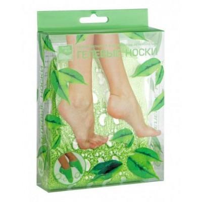 Носочки увлажняющие с экстрактом зеленого чая