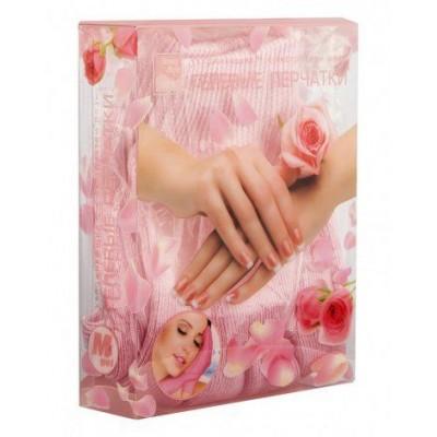 Перчатки увлажняющие с экстрактом розы GelSmart