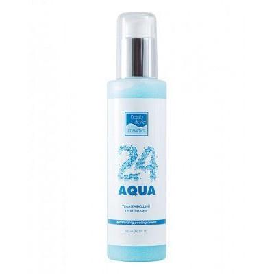Увлажняющий крем-пилинг «Аква 24» Beauty Style, 200 мл.