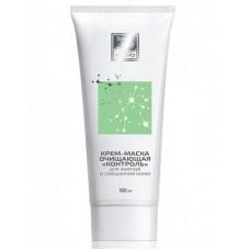 Крем-маска очищающая для жирной и смешанной кожи Контроль Beauty Style, 50 мл.