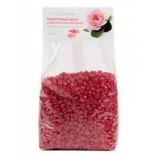 Пленочный воск с маслом розы москуэта в гранулах, 1 кг Cristaline, 1 кг.