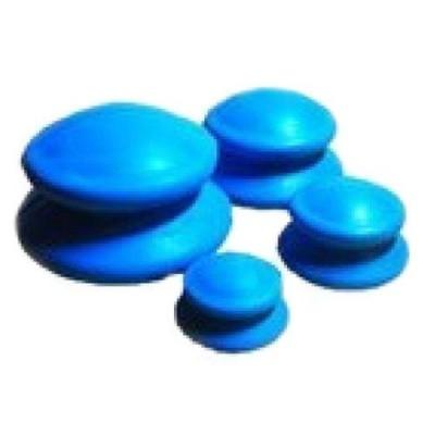 Банки для вакуумного массажа из антиаллергенной резины (4 шт в уп)
