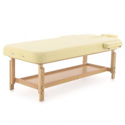 Стационарный массажный стол деревянный FIX-MT2 МСТ-31Л (SW1.31.10)