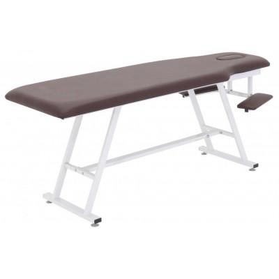 Стационарный массажный стол стальной FIX-MT1 (МСТ-19)