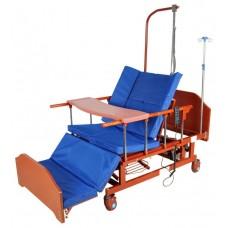 Кровать электрическая DB-11А (МЕ-5228Н-00) с боковым переворачиванием, туалетным устройством и функцией «кардиокресло»