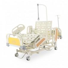 Кровать реанимационная электрическая DB-3 (5 функций) (МЕ-4019Н-00) с выдвижным ложементом и ростоматом CPR+аккумулятор с ростоматом