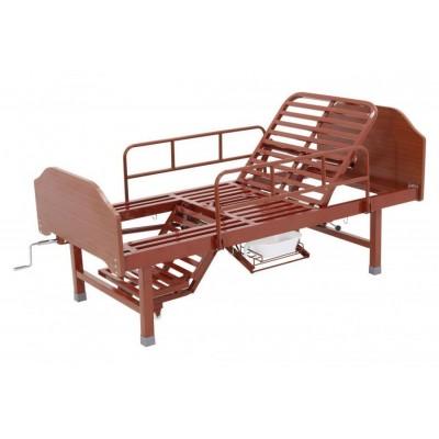 Кровать механическая с туалетным устройством и функцией «кардиокресло» Е-49 (MM-912Н)