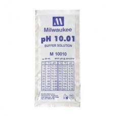 Жидкость калибровочная (буферный раствор) pH 10.01 MILWAUKEE 20мл для pH метров