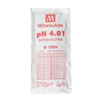 Жидкость калибровочная (буферный раствор) pH 4.01 MILWAUKEE 20мл для pH метров