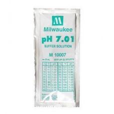 Жидкость калибровочная (буферный раствор) pH 7.01 MILWAUKEE 20мл для pH метров