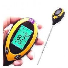 AMT-300 электронный измеритель pH, влажности, температуры и освещенности почвы