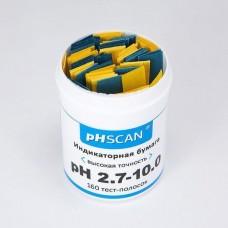 Индикаторная бумага pHSCAN: для определения pH диапазона от 2.7 до 10.0 с шагом 0.3