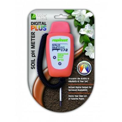 pH метр цифровой для почвы Luster Leaf Rapitest Plus 1847