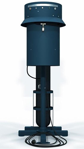 Конструкция уничтожителя продумана до мелочей, предусмотрено даже крепление для газового баллона на стойке